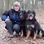 Martina mit Esra und Bonny