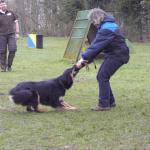 Bonny und Martina beim Spiel