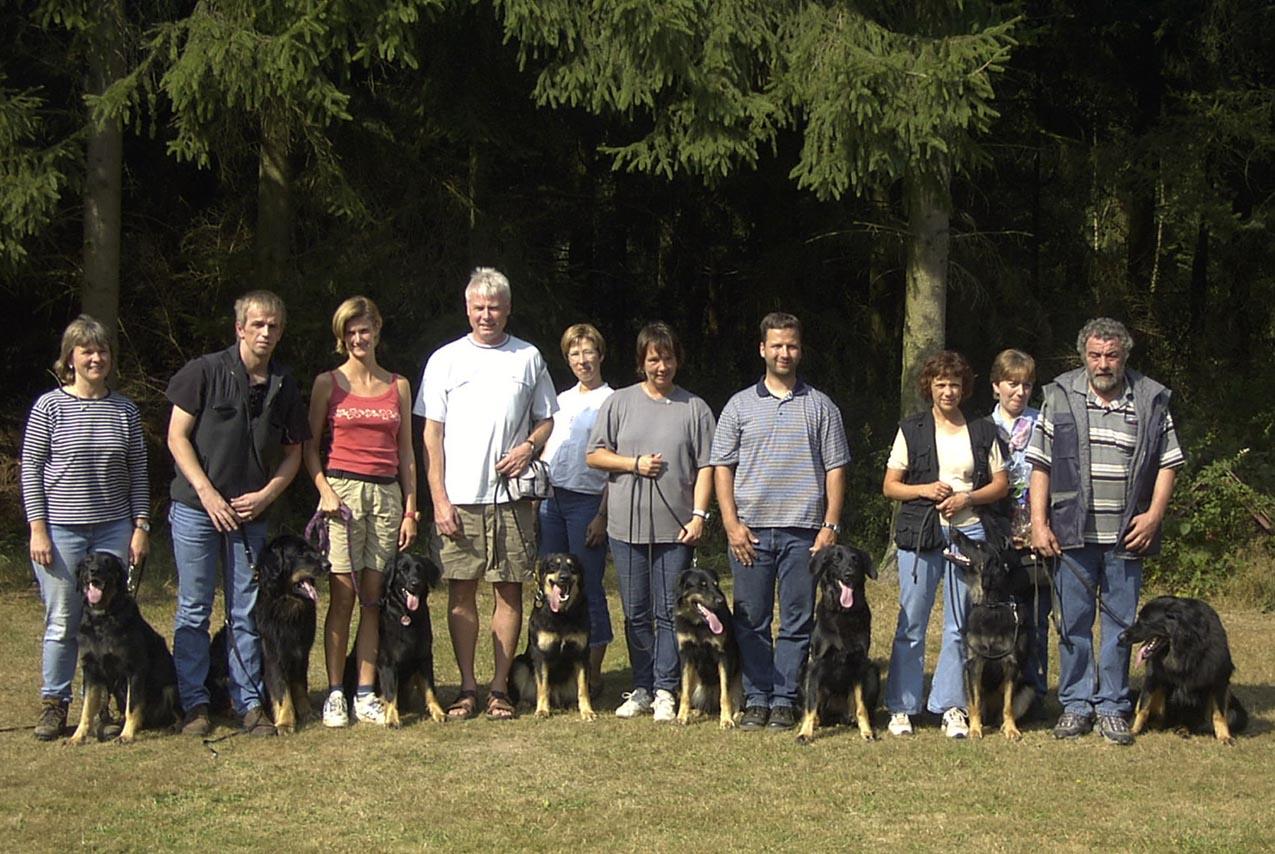 Gruppenbild A-Wurf