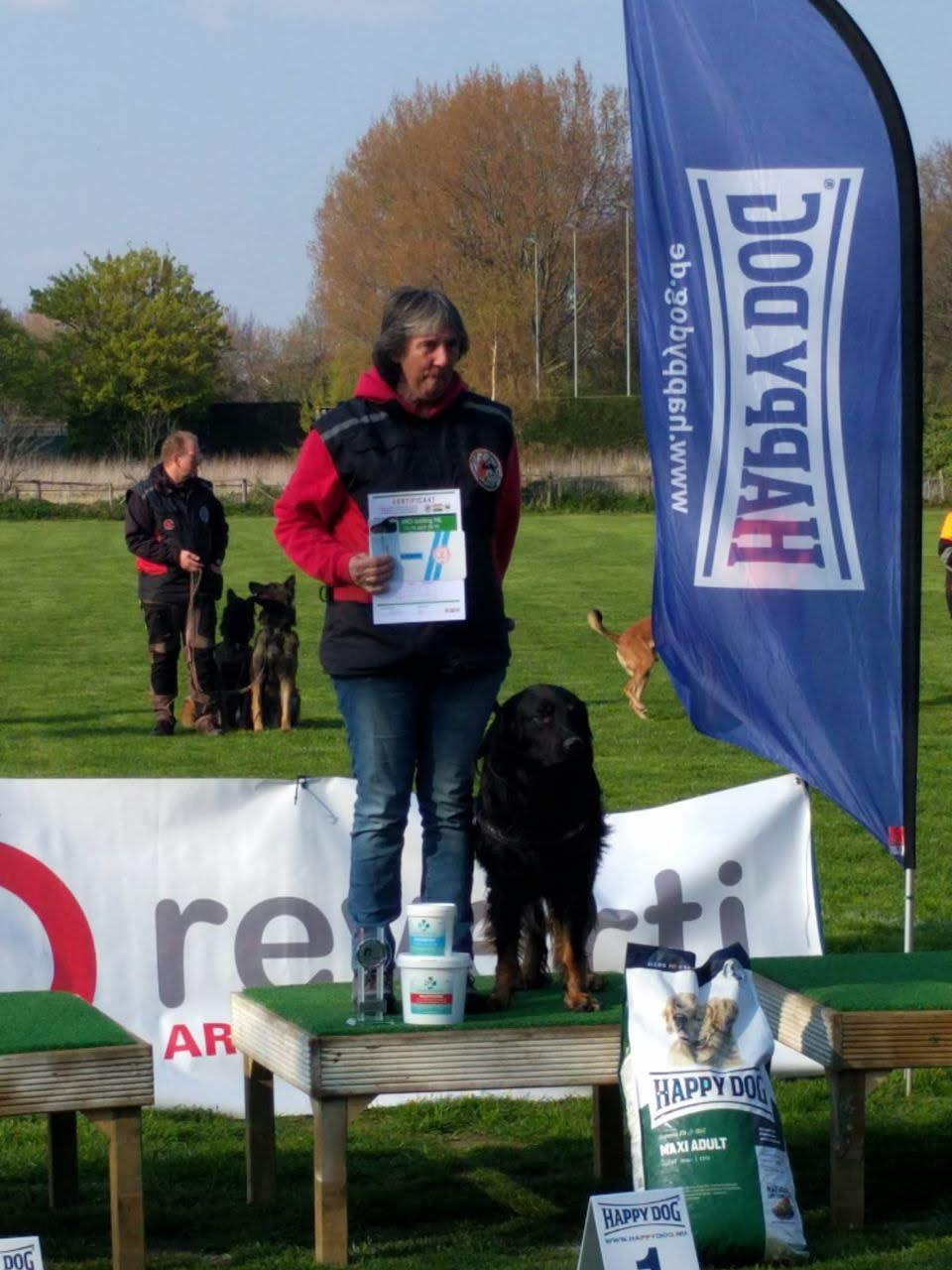 Rettungshundeprüfung A IRO in den NL
